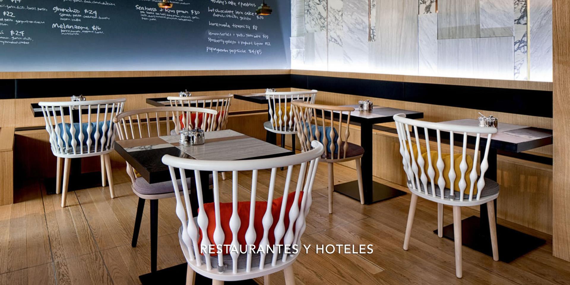 RESTAURANTES Y HOTELES